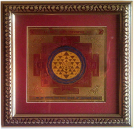 SRI YANTRA • Ottone/Gold Plated – Misure varie