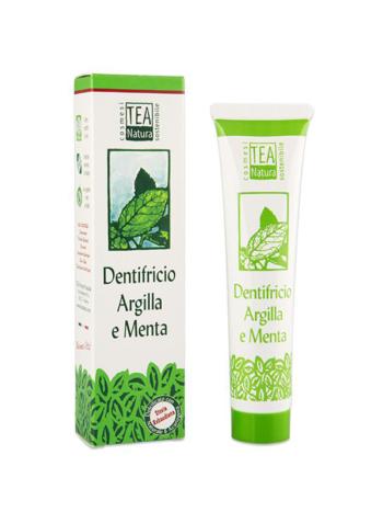 Tea Dentifricio Argilla Menta - Tara Center Shop